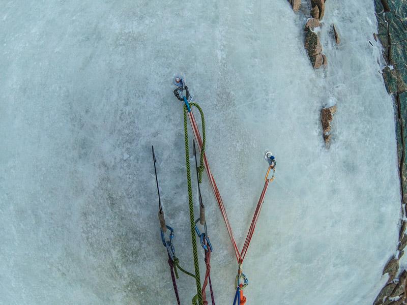 Тесты ледобуров Petzl Laser Speed Light в зимней Ала-Арче
