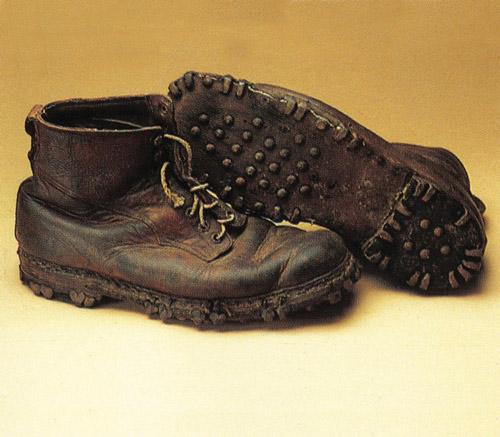Старые ботинки Zamberlan