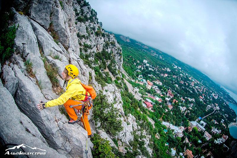 Выезд в Крым: скальный альпинизм - АльпИндустрия