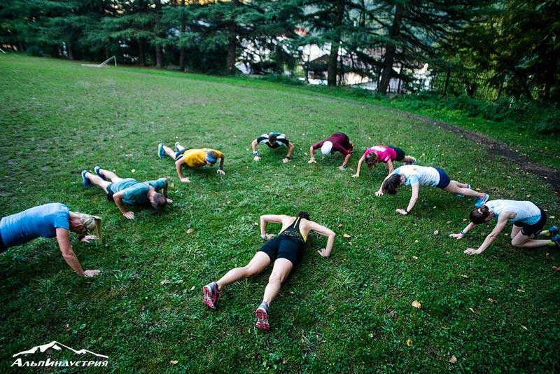 Тренировка силы и тренировка выносливости