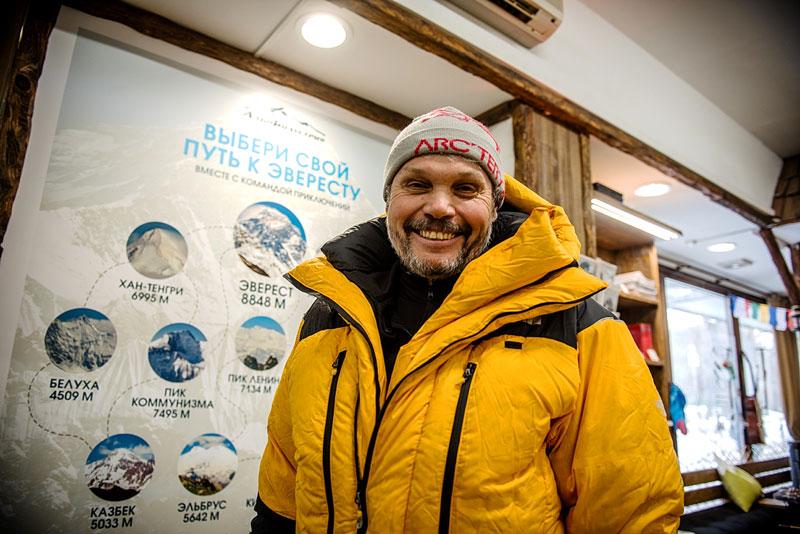 Восходитель на Эверест Сергей Ковалёв
