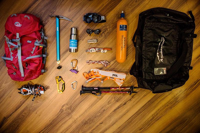 Снаряжение для восхождения на Эверест