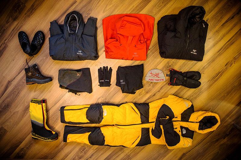 Одежда для восхождения на Эверест