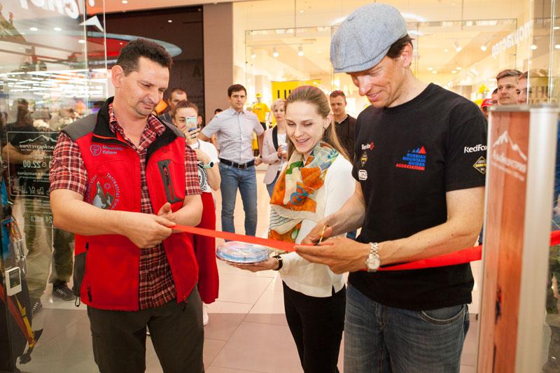 Торжественное открытие магазина АльпИндустрия в Краснодаре