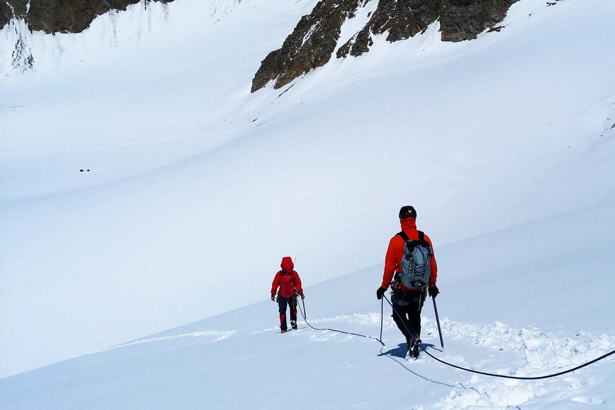 Итоги тестов рюкзака Arcteryx Alpha AR 35 в горах Кавказа