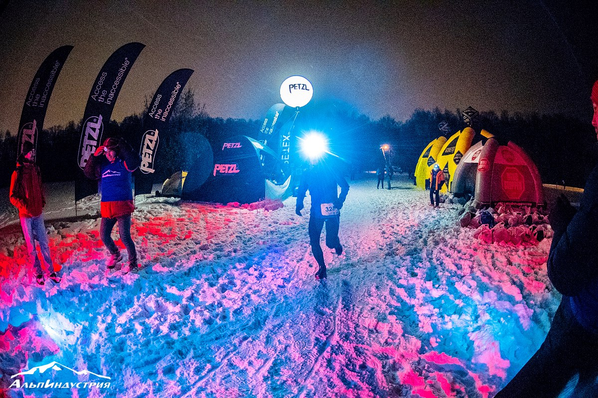 Alpindustria Night Trail Ночная гонка