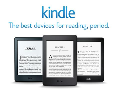 Kindle - устройство для чтения электронных книг Amazon