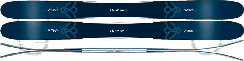 Горные лыжи Movement Fly 125