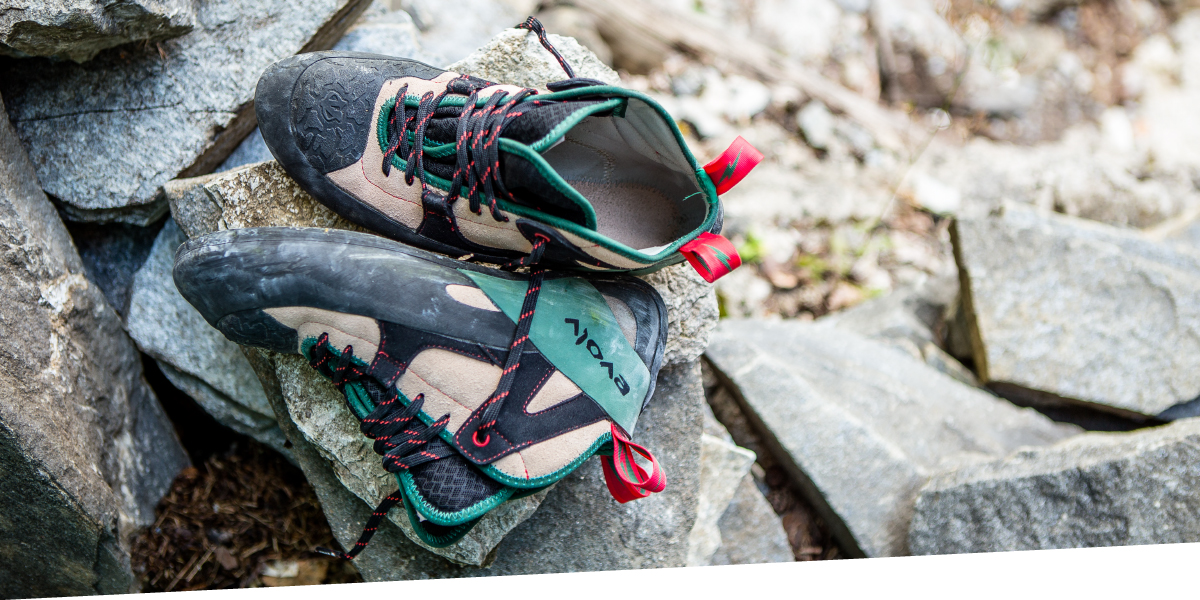 Как ухаживать за скальными туфлями: рекомендации от Evolv