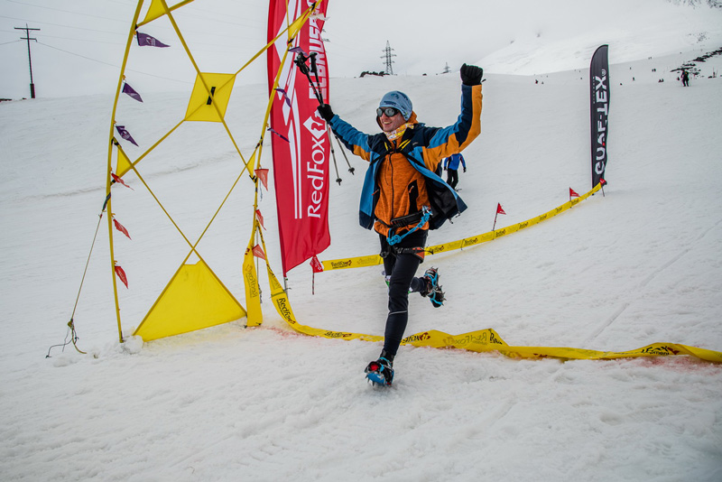 Финиш на Red Fox Elbrus Race