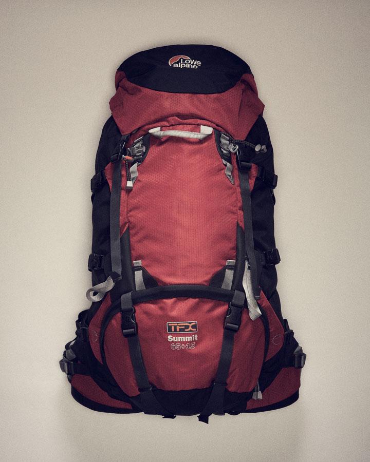 Lowe Alpine TFX Точная регулировка спины рюкзака