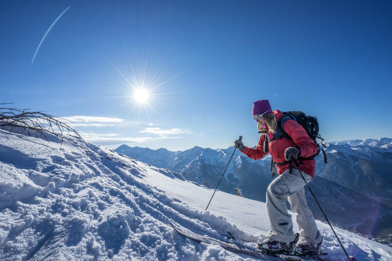 Ски-тур на Мамае