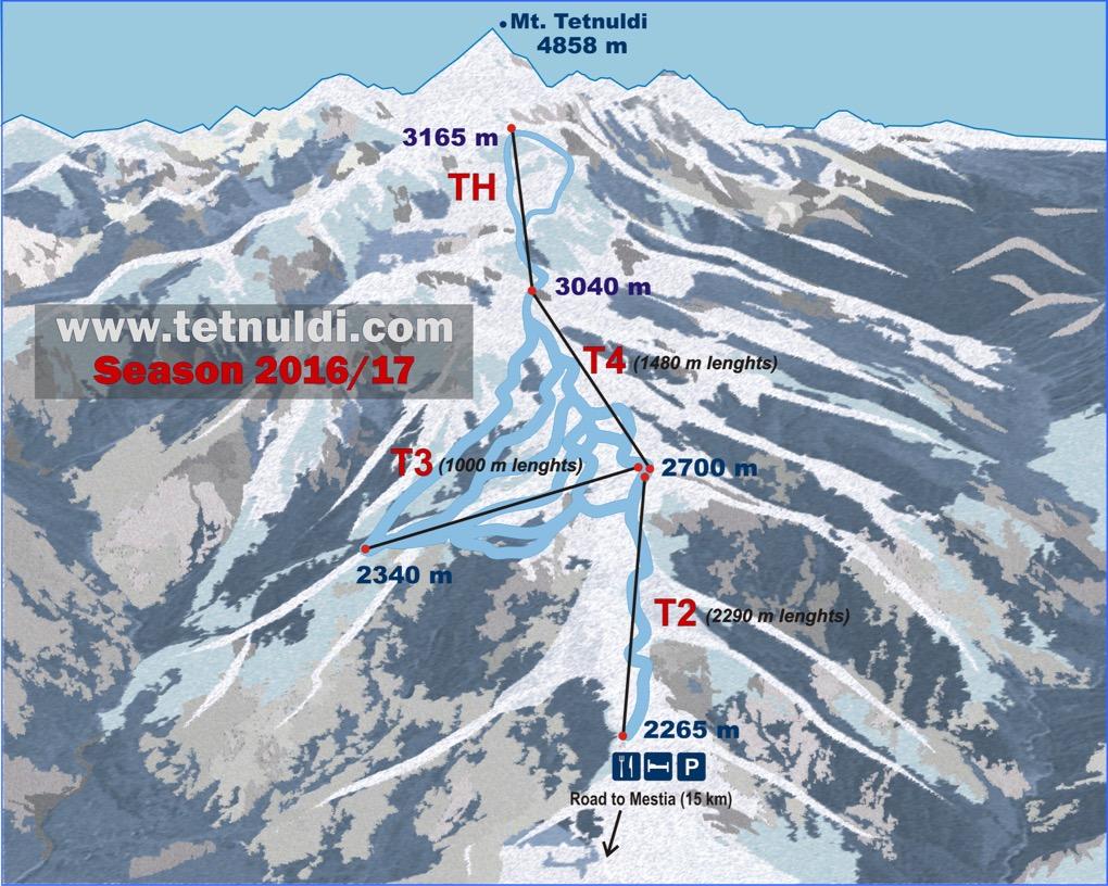 Карта Тетнульди