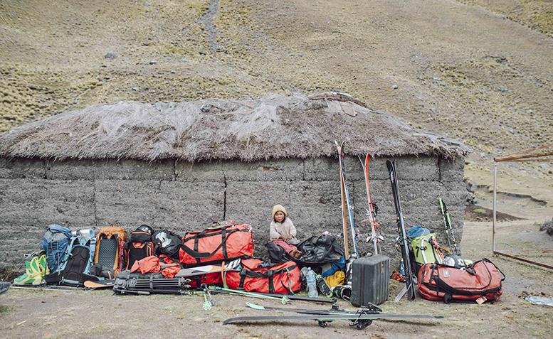 Горнолыжная экспедиция в Боливию в 2015 году. Фото: Mickey Ross.