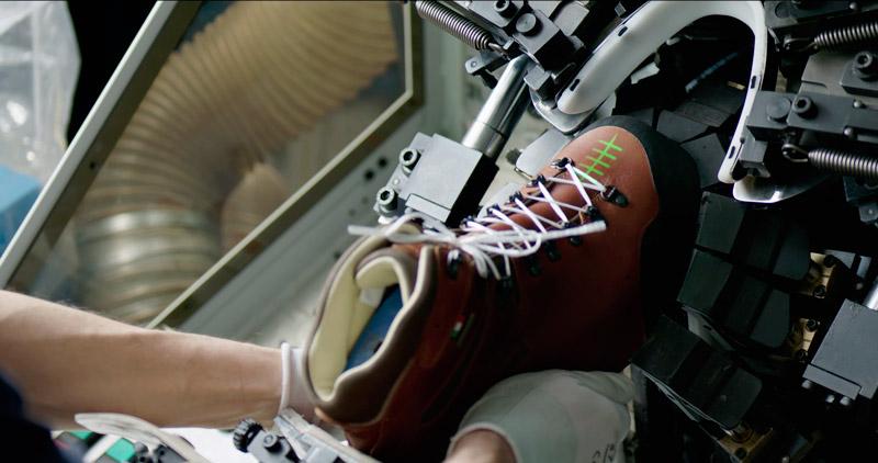 Формовка обуви на заводе Zamberlan