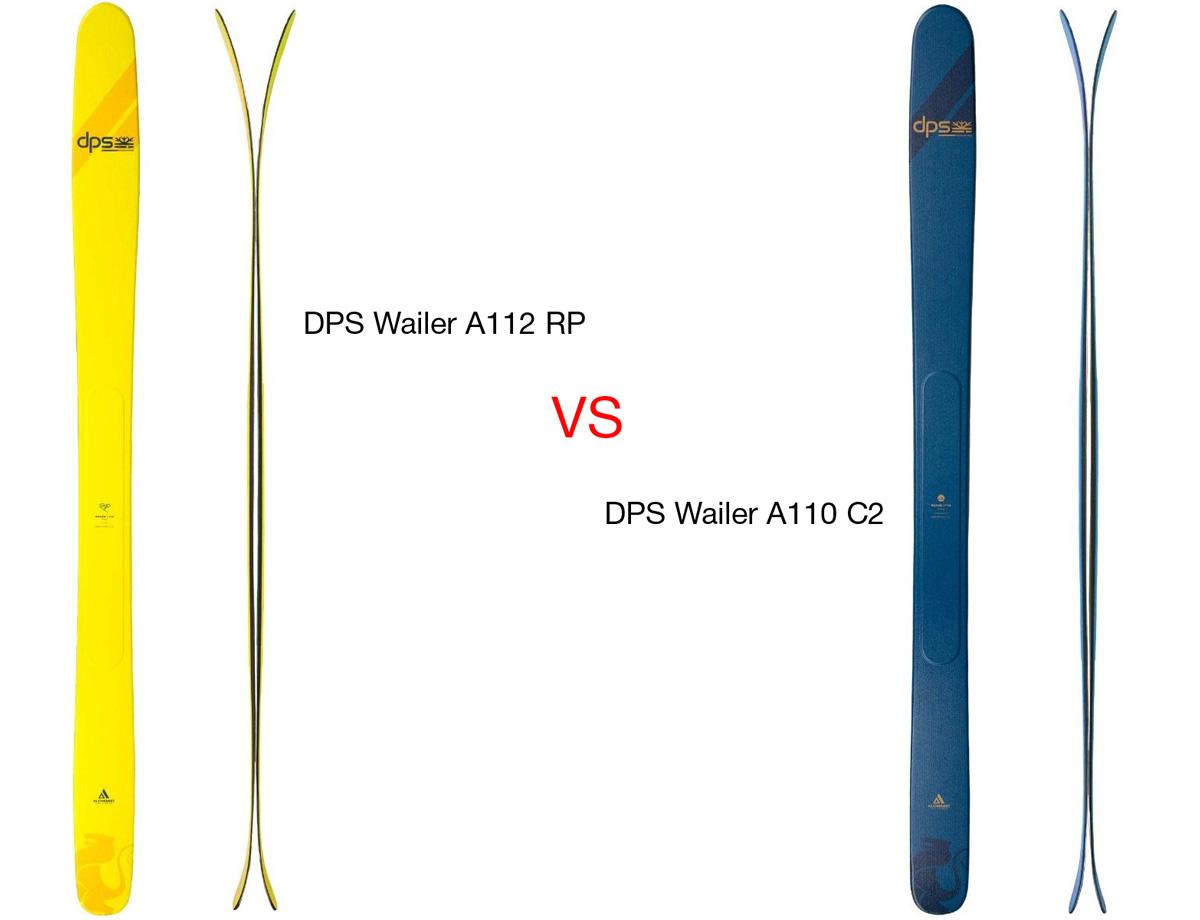 Новые лыжи DPS Wailer A110 C2 против Wailer A112 RP