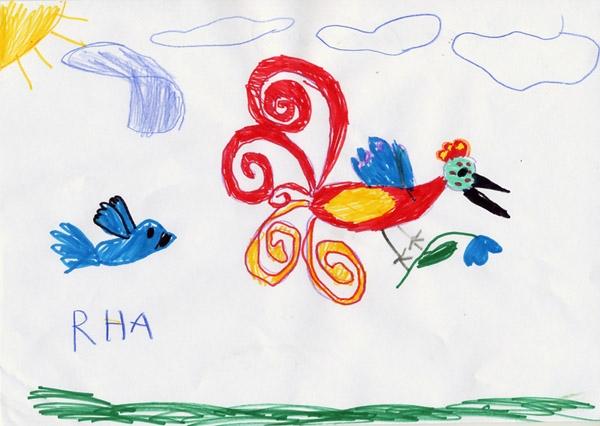 2012 детские рисунки: