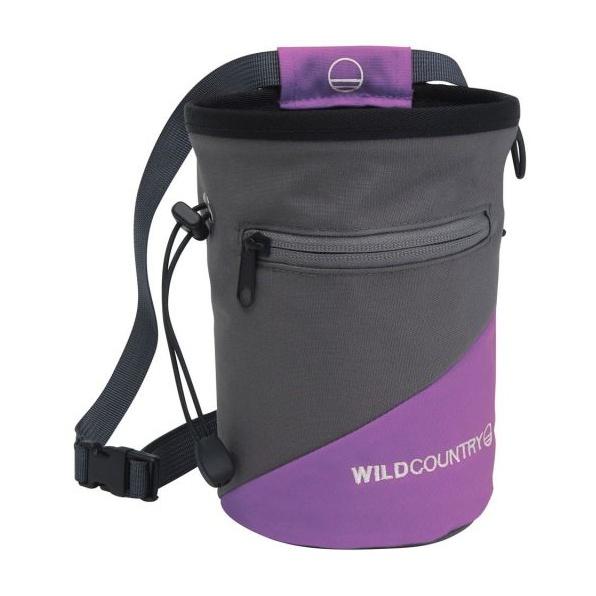 Мешок для магнезии WILD COUNTRY Wild Country Сargo фиолетовый wild country dyneema