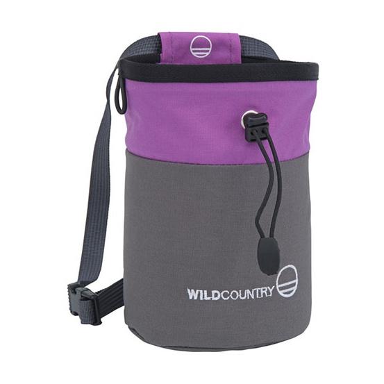Мешок для магнезии Wild Country Petit Bloc фиолетовый
