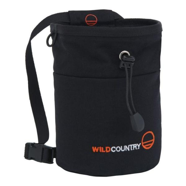Мешок для магнезии Wild Country Wild Country Petit Bloc черный закладка wild country wild country rock 14 14