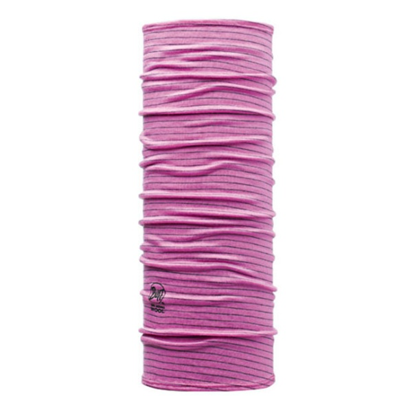 Бандана BUFF Buff Dyed Stripes Roze (Wool Buff ®) детская 53/62 бандана buff buff original black chic stripes черный onesize