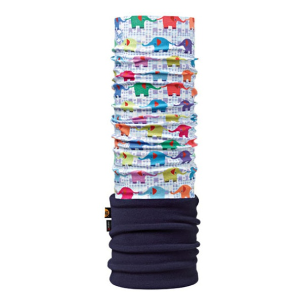 Бандана BUFF Buff Elephant/Navy (Baby Polar Buff ®) детская 45/51 бандана buff polar skank black 107840 00