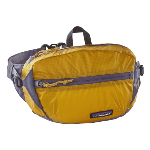 Сумка на пояс Patagonia LW Travel Hip Pack 3L желтый 3л