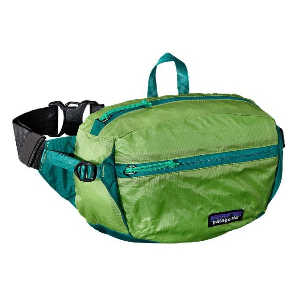 Сумка на пояс Patagonia LW Travel Hip Pack 3L светло-зеленый 3L