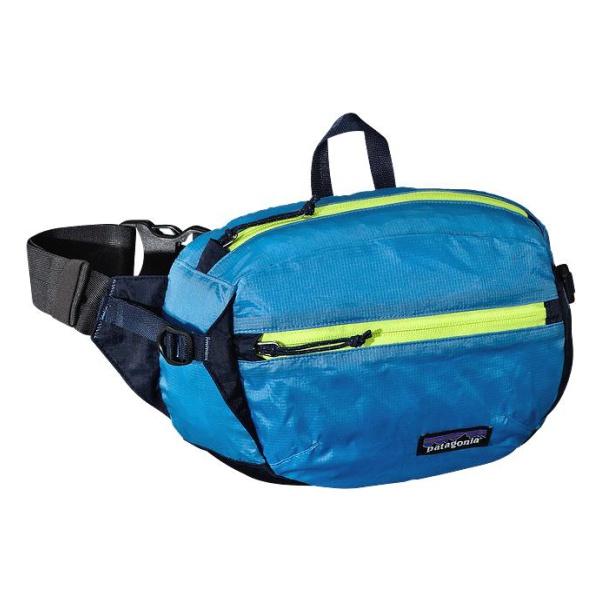 Сумка на пояс Patagonia Patagonia Lightweight Travel Hip Pack 3L голубой 3L цена и фото