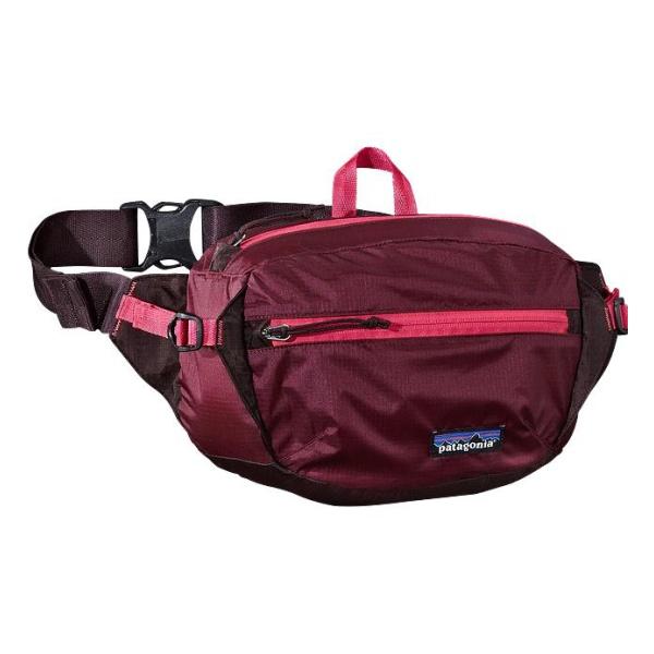 Сумка на пояс Patagonia LW Travel Hip Pack 3L темно-красный 3L