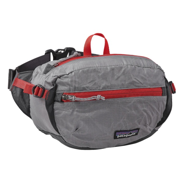 Сумка на пояс Patagonia LW Travel Hip Pack 3L серый 3л