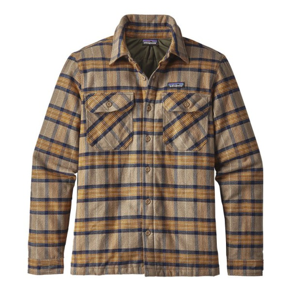 Рубашка Patagonia Patagonia Insulated Fjord Flannel брюки patagonia patagonia flannel lined straight fit jeans
