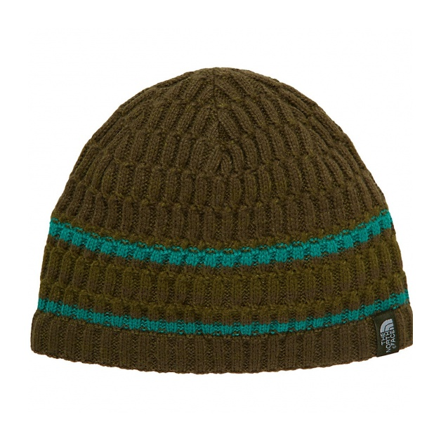 Шапка The North Face The North Face The Blues Beanie зеленый OS цепочка