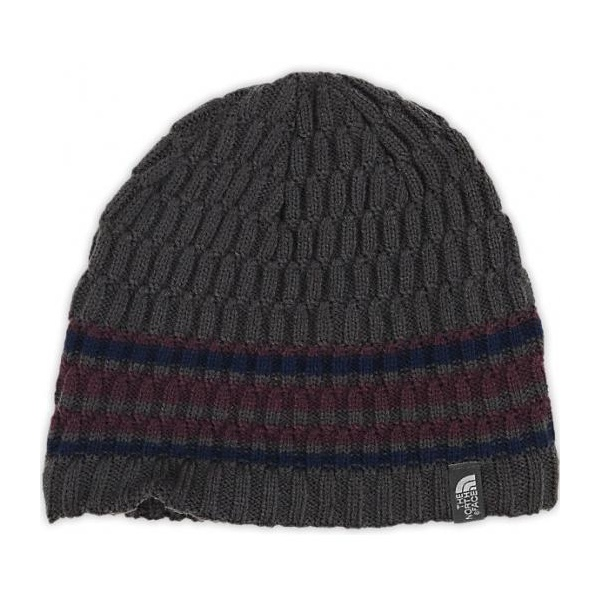Шапка The North Face The North Face The Blues Beanie темно-серый OS the north face triple cable pom beanie красный one t0cln6