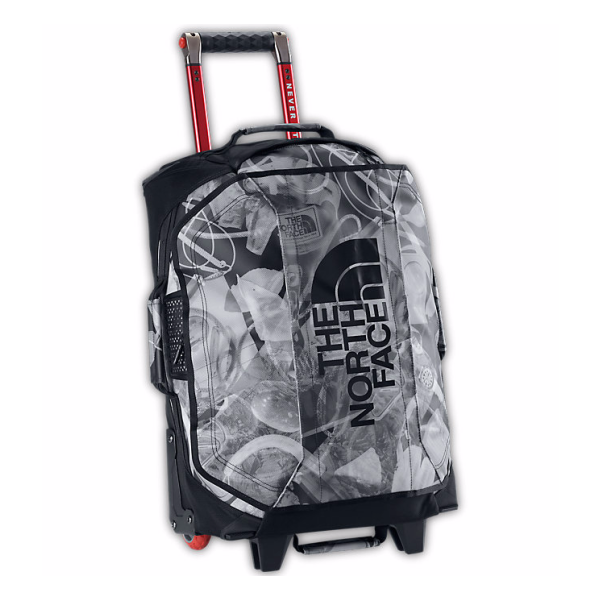 Сумка на колесах The North Face The North Face Rolling Thunder - 22 черный 40л flower style blood circulation promote rolling face massager purple white