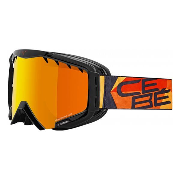 Горнолыжная маска Cebe Cebe Hurricane L оранжевый L цена