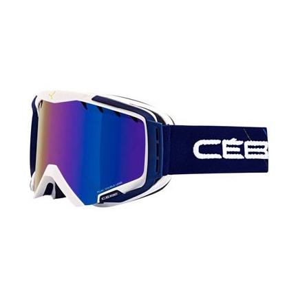 Горнолыжная маска Cebe Hurricane L синий L