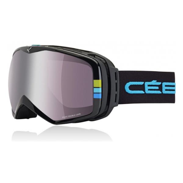 Горнолыжная маска Cebe Cebe Peak черный L горнолыжная маска cebe cebe fanatic l черный