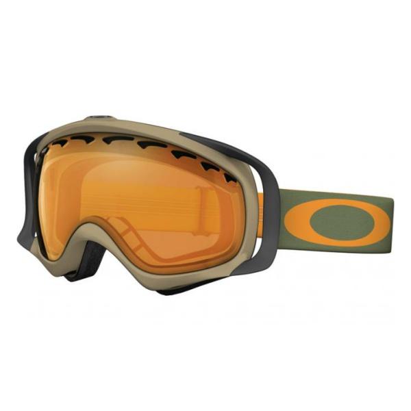 Горнолыжная маска Oakley Crowbar хаки