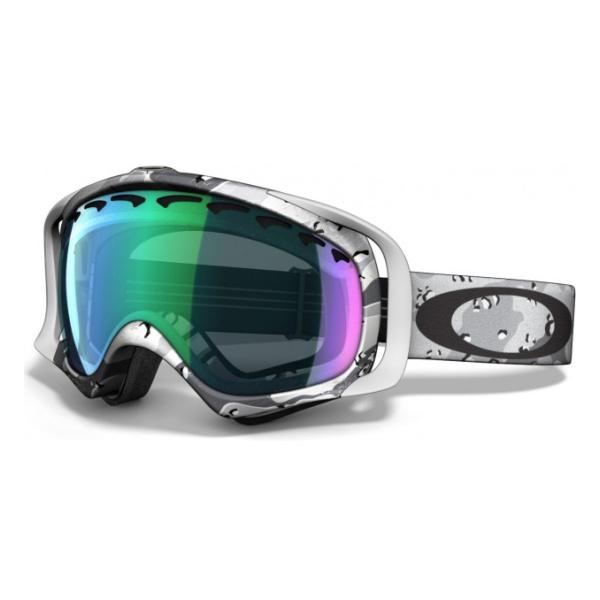 Горнолыжная маска Oakley Crowbar светло-серый