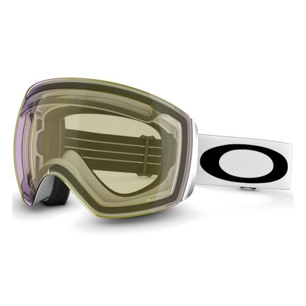 Горнолыжная маска Oakley Flight Deck белый