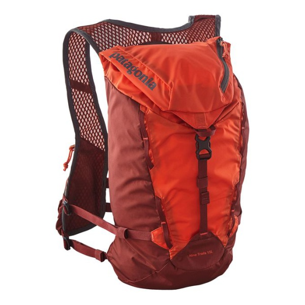 Рюкзак Patagonia Patagonia Nine Trails Pack оранжевый 15л рюкзак patagonia patagonia lw black hole cinch pack 20l оранжевый 20л
