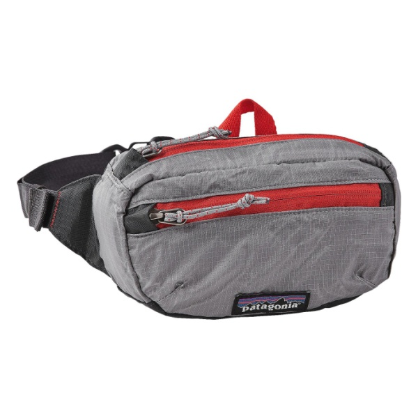 Сумка на пояс Patagonia Lightweght Travel Mini Hip Pack 1L серый 1л