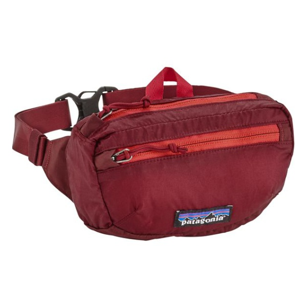 Сумка на пояс Patagonia Patagonia Lightweght Travel Mini Hip Pack 1L темно-красный 1л patagonia arbor grande pack 32l 47970
