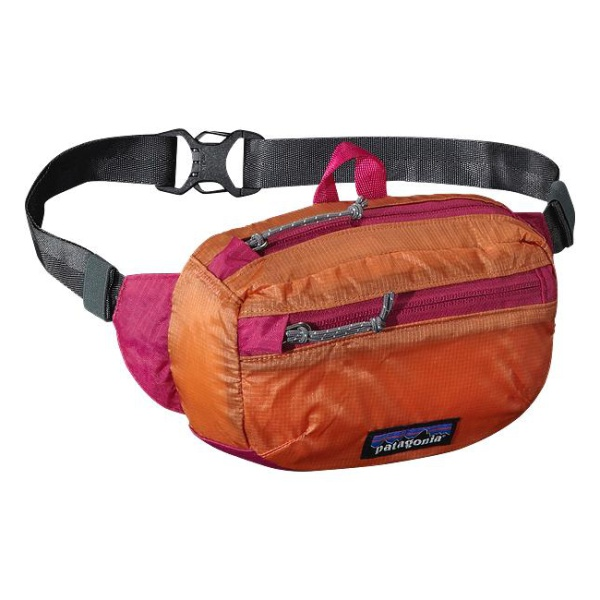Сумка на пояс Patagonia Lightweght Travel Mini Hip Pack 1L светло-розовый 1л