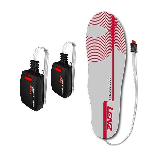 Набор стельки + аккумулятор LENZ Set Lithium Pack Insole зарядное для литиевых аккумуляторов купить
