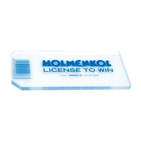 Скребок HOLMENKOL Plastic Scarper Pro 130X60X5MM щетка для подготовки лыж holmenkol speedbrush