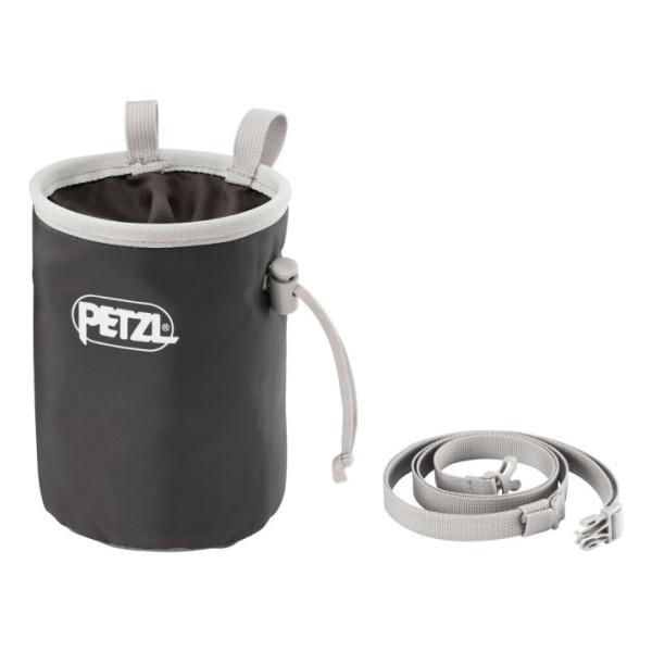 Мешочек для магнезии Petzl Bandi серый
