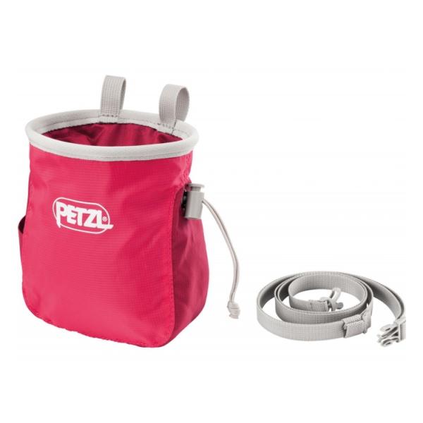 Мешок для магнезии Petzl Petzl Saka розовый мешок для магнезии petzl petzl saka оранжевый