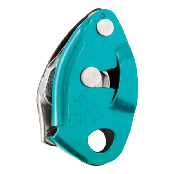 Страховочное устройство Petzl GRIGRI светло-голубой